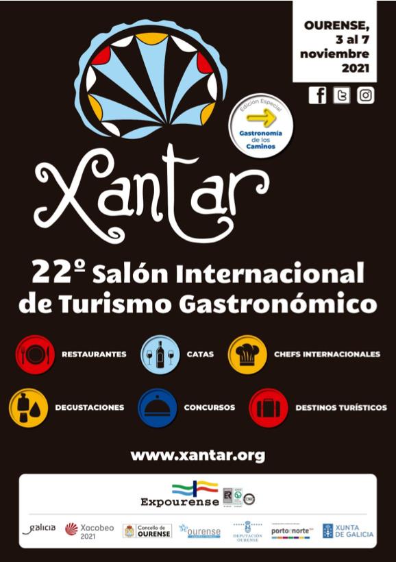 Xantar 2021 – Feria internacional de Turismo Gastronómico